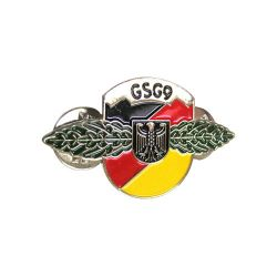 S-02 Metal Security Badge (23mm x 38.5mm)