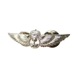 S-12 Metal Badge (12mm x 41mm)
