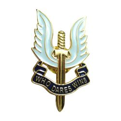 S-46 Security Badge (23mm x 40mm)