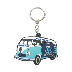 002 Rubber Key Chain