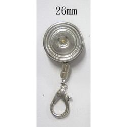 RS-02 Stainless Steel Badge Reel